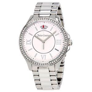 Juicy Couture Gwen Crystal Bezel Bracelet Watch